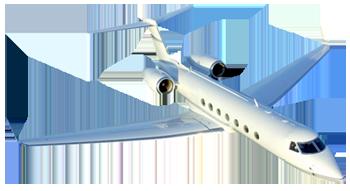 private jet image