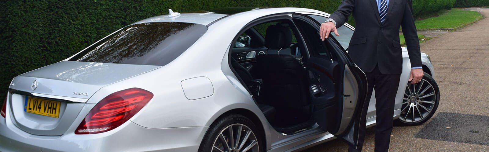 smart driver opening car door
